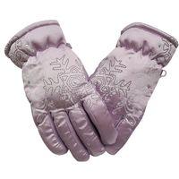 Wholesale 2016 New Winter Boy Girl Kids warm gloves outdoor Sports children Skiing gloves