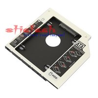 Wholesale 100pcs Universal nd mm Ssd Hd SATA Hard Disk Drive HDD Caddy Adapter Bay For Cd Dvd Rom Optical Bay hot new