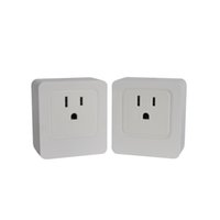 Wholesale HuaFanQinLu Wifi Smart Power Socket US Plug Turn On Off Electronics Through The IOS Android Application At Anytime Anywhere To Contr