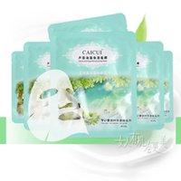 algae remover - 10pcs Aloe Vera Algae Face Mask Moisturizer Whitening Moisturizing Acne Treatment Blackhead Remover Face Care Mask Skin Care