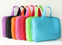 asus notebook pc case - Pure Color quot quot sleeve Laptop bag Notebook Case Computer PC Cover Handle Pouch for Sumsung Dell Sony ASUS