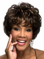 Wholesale short wave synthetic hair wigs ladies hair wig Afro American women s natural hair wigs for black women