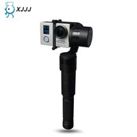Wholesale XJJJ JJ Smart Handheld Gimbal Axis Brushless Sport Camera Mount Support with Battery for Gopro Xiaoyi Camera VS DJI OSMO