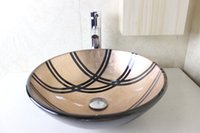 Wholesale Tempered glass Round basin Wash basin Wash basin Wash basin Wash basin Wash basin N