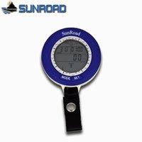 air pressure forecast - Sunroad SR204 Compass Waterproof Digital Fishing Fish Finder Barometer Altimeter Weather Air Pressure Forecast LED Thermometer