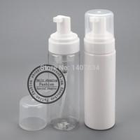 envío al por mayor-libre 30pcs / lot 200ml espuma botellas mousse, espuma botella, la formación de espuma de la bomba, dispensador de jabón, botella de plástico