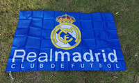 Wholesale Blue type football club Football Club football team Flag Hot Sell Goods X5FTBanner
