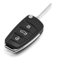 audi flip key - Car Case Replacement Folding Flip Remote Key Shell Case Button Case For AUDI A2 A3 A4 A6 A6L A8 TT
