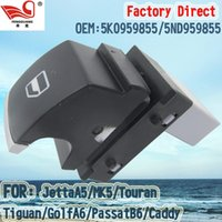 Wholesale Factory Direct Master Electric Auto Power Main Window Switch Apply for VW JettaA5 Tiguan GolfA6 PassatB6 Caddy ND959855