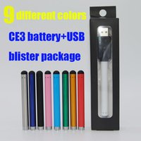 automatic battery chargers - 510 Thread automatic Bud Touch Vape Pen Battery and USB Charger O Pen Buttonless for Vape CBD Oil Cartridge
