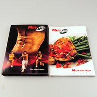 Wholesale Best Quality Fitness Videos RevAbs New Arrival dvd Complete Box Set Small version RevAbs Lose weight