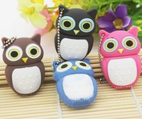 No animal driving - Cartoon owl model USB Flash Drive Memory Stick Flash Pen Drive GB GB GB GB GB USB Pendrive Stick