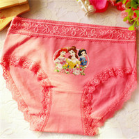 Wholesale 2016 Hot Sale For Girls Underwear Child Briefs Panties Baby Kids Pants High Quality Short Children Princesses