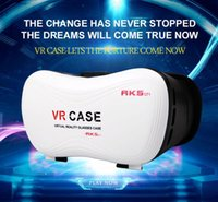 Wholesale 3D VR Case RK5 VR BOX th RK5th Glasses Headset Virtual Reality D Movies Games for inch Phone with Bluetooth Game Control
