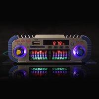 al por mayor 12v amplificador de sonido-HY601 2 canales de alta fidelidad Mini Digital de la motocicleta Auto coche estéreo Amplificador de potencia Modo de sonido Audio Reproductor de música Soporte USB / FM / SD CEC_818