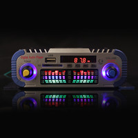 Wholesale HY601 Channels Hi fi Mini Digital Motorcycle Auto Car Stereo Power Amplifier Sound Mode Audio Music Player Support USB FM SD CEC_818