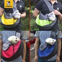 Wholesale New Pet Dog Cat Puppy Front Carrier Mesh Comfort Travel Tote Shoulder Bag Sling Backpack Comfortable Dog Backpack love