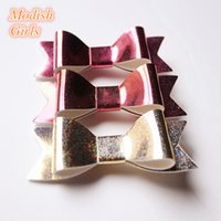 Cheap Barrettes Baby hair clips Best Artificial Leather Solid Nairpins