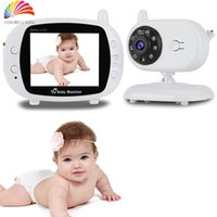 Wholesale Infant GHz Wireles Baby Babysitter Digital Video Baby Monitor Audio Night Vision Music Temperature Display Radio Nanny