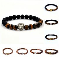 Wholesale Fashion Natural Stones Beaded Stretch Bracelet for Men and Women Bead Handmade Jewelry