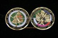 armor coin - USMC Marine Corps Armor of God Challenge Coin