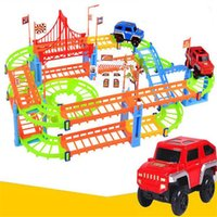 assembly class - Variety Of Rail Cars Multi layer Speed Combination Of Electric Car Assembly Children s Track Toys Hot Sales Plastic Electric Products
