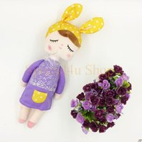 bee gifts quality - Unique Gifts high quality Sweet Cute Angela rabbit doll baby plush doll for kids panda butterfly bee poupee dolls