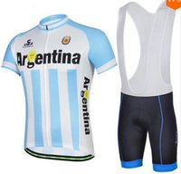 argentina clothing - Brand Argentina Team Cycling Jersey Mountain Road Mens Bike Jerseys Short Sleeve Race Bicycle Clothes Ropa Ciclismo