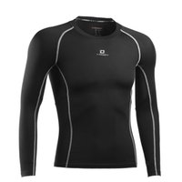 base tee - Men Tops Tees Long Sleeve Compression Tights Base Layer Fitness Gym Running Cycling Riding Yoga Shirt Clothing Jersey S XL