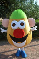 Wholesale The most popular Christmas Halloween Potato cartoon costumes for Halloween party supplies adult size mascot