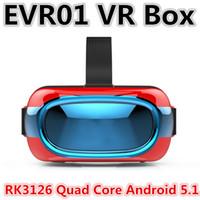 arm quad - EVR01 VR Glasses D ALL IN ONE RK3126 Quad Core ARM Cortex A7 Inch x720 Degree Bluetooth WIFI D Virtual Glasses VR