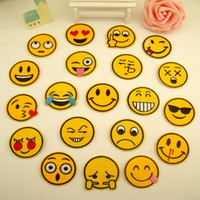Wholesale Emoji Facial Expressions Cartoon Cloth Patch of Children s Patches To Patch Cloth Clothing Subsidies Fashion Patch Embroidery Smile