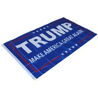 Wholesale New Fashion During the presidential campaign cm flag American flag TRUMP FLAG B0592