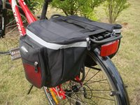 bicycle accessories bag - New Cycling Bicycle Accessories Waterproof Saddle Bag Duffle Bicycle Bag Rear Bike Pannier Bicycle Bags Cycling Bicycle Bag