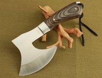 Wholesale 2015 Sharp F702 Survival tomahawk axes axe outdoor machetes steel tactical axe head machado facao hatchet camping hand fire ax