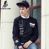 animal camps - Pioneer Camp hot mens hip hop black hoodies sweat suit tracksuit men hoodies men sweatshirts autumn male streetwear
