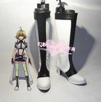 ange shoes - CROSS ANGE Tenshi to Ryuu no Rondo Salia cosplay shoes boots shoe boot HY028 Halloween