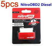 best performance cars - 5pcs Plug and Drive NitroOBD2 Performance Chip Tuning Box for Diesel Cars Best Quality