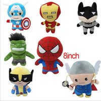 acting movies - avengers alliance movie Plush dolls Paragraph Q version dolls cute Act the role ofing is tasted Furnishing articles