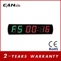 Precio de Grandes relojes de pared azul-[GANXIN] Temporizador de intervalo de 4