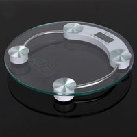 bathroom glass weight - 180KG KG LCD Digital Electronic Body Fat Weight Bathroom Weighing Scales