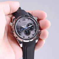 Wholesale Hot Selling Full HD P Spy Watch GB GB IR Night Vision Camera Waterproof Hidden DVR Camcorder W5000 with Retail Box