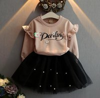 baby pink nails - halloween Girl Dress wedding dresses Children Baby Girls letter T shirt Tops Nail bead veil Skirts Outfits sets Party Dress Y