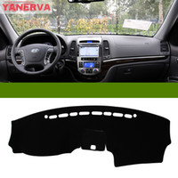 Wholesale Interior Car Dashboard Cover Light Avoid Pad Photophobism Mat Sticker For Hyundai Santafe