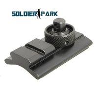 advance optics - Airsoft Hunting Accessories Advanced Optics Rifle Bipod Adapter mm Mount Swivel Stud Adaptor Picatinny Rail Slot Adaptor order lt no track