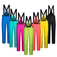 Wholesale Dropshipping degree snow pants plus size elastic waist lady trousers winter skating pants skiing outdoor ski pants for women