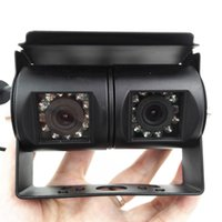 Wholesale New T Bus Truck Car Rear View Camera Angle Reverse Backup Camera Waterproof Monitoring Double Camera for Parking Assistance