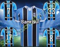 Wholesale Gremio jersey guild Guild GIULIANO football shirt GIULIANO RAMIRO Geromel LUAN MAICON ERAZO Fernandinho Guild maillot