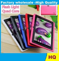 android tablet google play - Allwinner A33 Quad Core Q88 Q8 Tablet PC Dual Camera Flashlight Inch capacitive screen Android MB GB Wifi OTG Google play store dhl