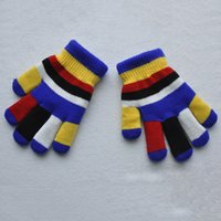 Wholesale Fashion New Winter Childrens Magic Gloves Girls Warm Lovely Stretchy Gift